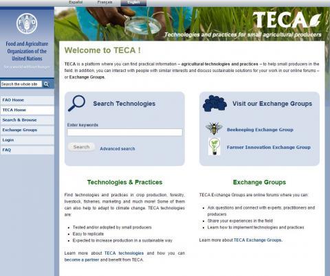 TECA, 2014. Teca, FAO, Rome, Italy