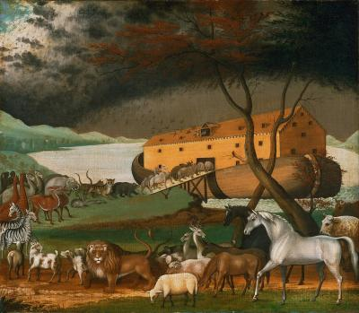 Noah's Ark, 1846,  Edward Hicks, Wikimedia Commons