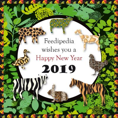 Feedipedia Season's Greetings 2019