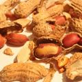 Broken peanuts